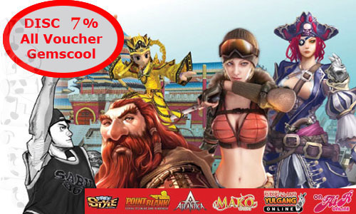 Voucher Gemscool Disc 7%